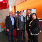 Die Chamer Delegierte mit dem neuen Generalsekretär Uli Grötsch